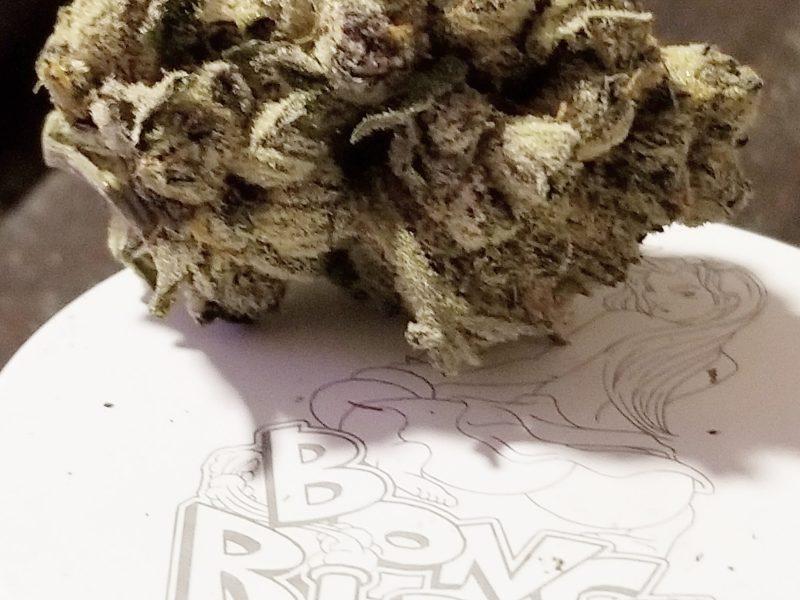 Blue Biscotti strain,  dank A.F Smoke' N reportin'