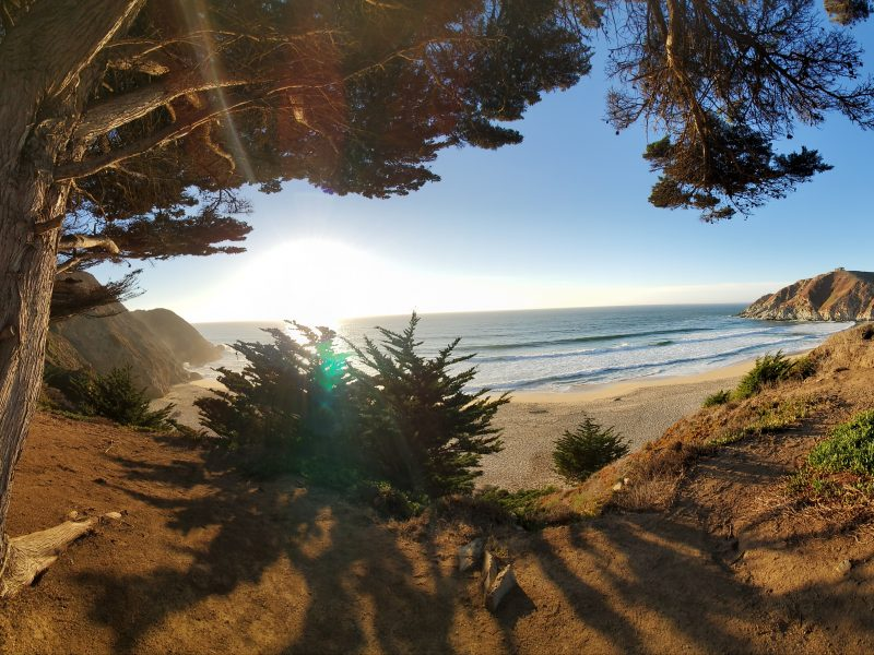 GRAY WHALE COVE NUDE BEACH- Get Stoned, naked, watch the sunset, get murdered…