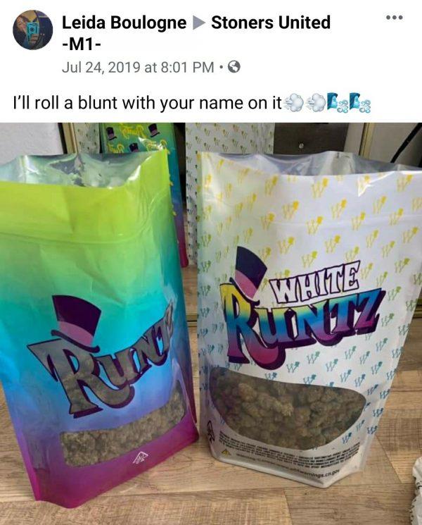 runtz in bags