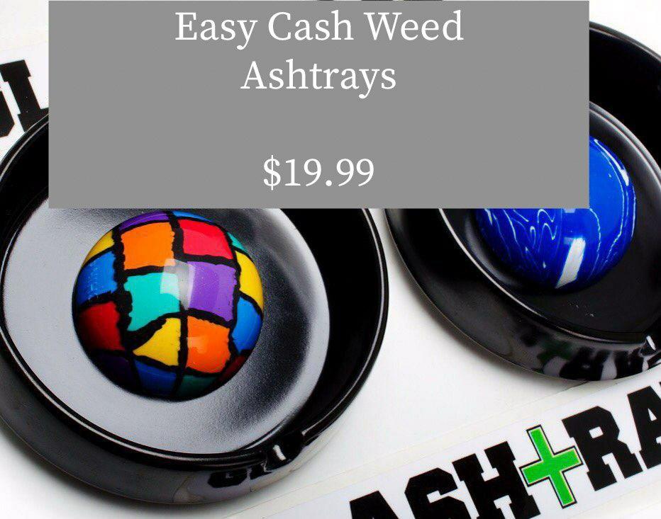 Weed ashtray